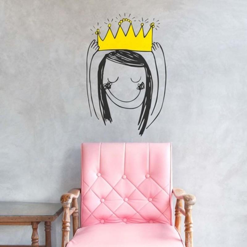 Princesse couronnée