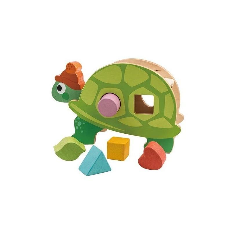 Boîte à formes tortue TLT