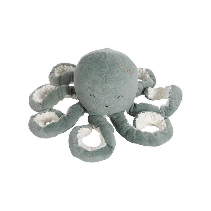 Little Dutch - Peluche pieuvre - Ocean Mint
