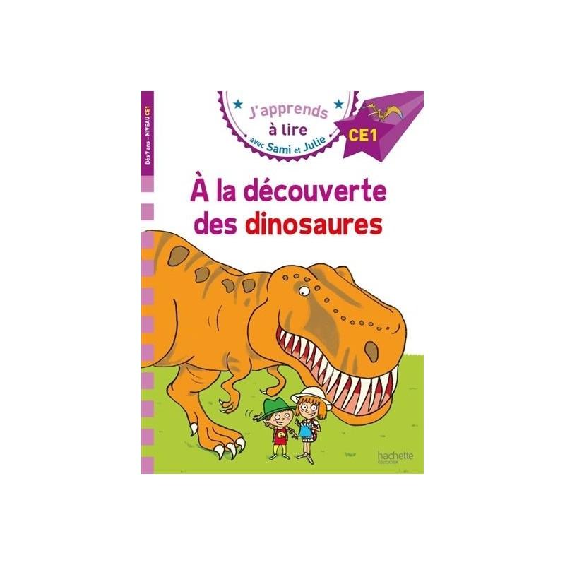 Sami et Julie - A la découverte des dinosaures (niveau 4)