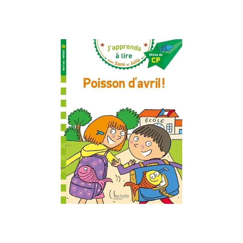 Sami et Julie - Poisson d'avril ! (niveau 2)
