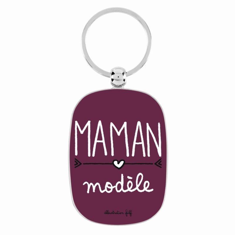Porte-clés OPAT - Maman modèle