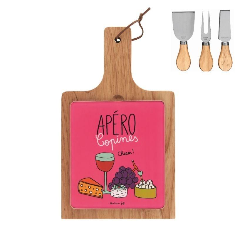 Plateau à fromages (+ 3 couverts) ELAN - Apéro des copines