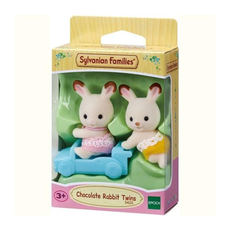 Jumeaux lapin chocolat - Sylvanian Families