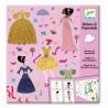 Stickers et paperdolls - Robes des 4 saisons