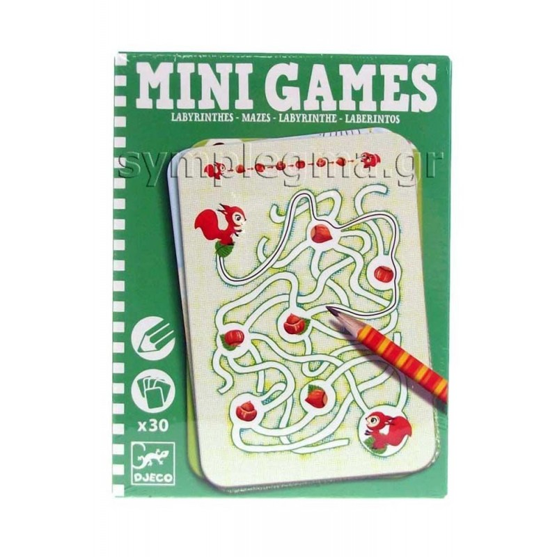 Mini games Labyrinthes