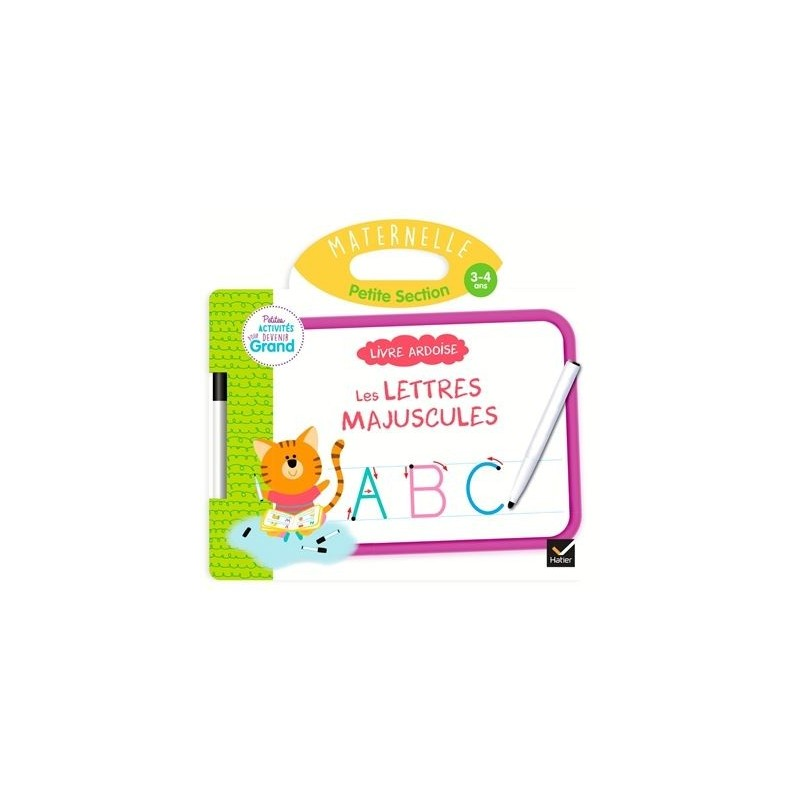 Les lettres majuscules, maternelle petite section, 3-4 ans