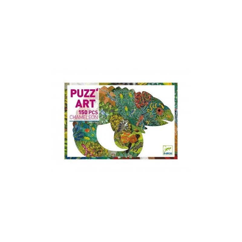 Puzz'art Chaméléon 150 pcs