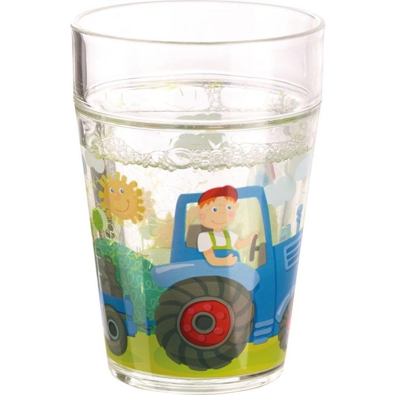 Gobelet scintillant tracteur