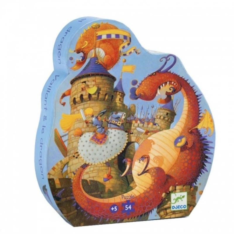 Puzzle Vaillant & le dragon