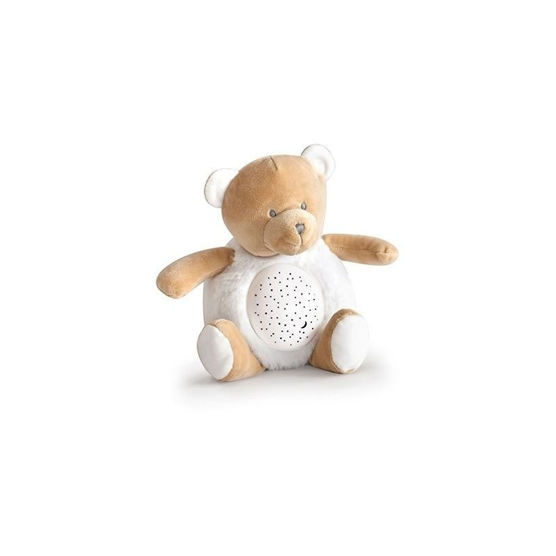 Peluche Veilleuse musicale ours