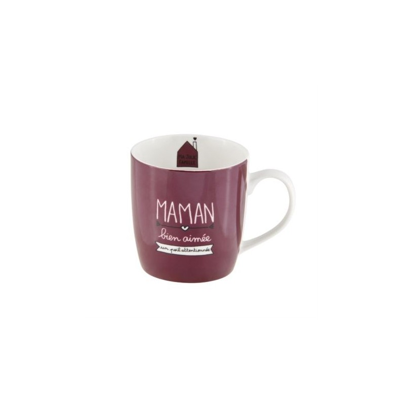 Mug LEMAN (+boite) Maman bien aimée