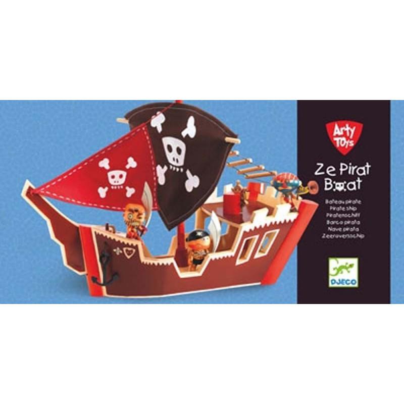 Arty toys Ze pirat boat