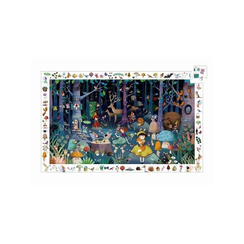 Puzzle observation - La forêt enchantée 100 pcs