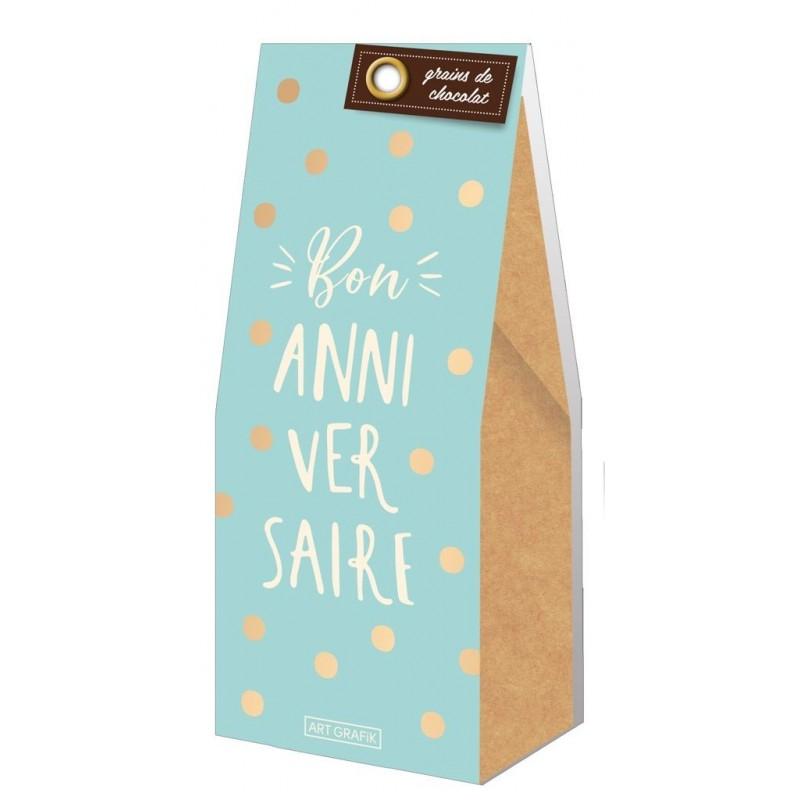 Grains de chocolat - Bon anniversaire