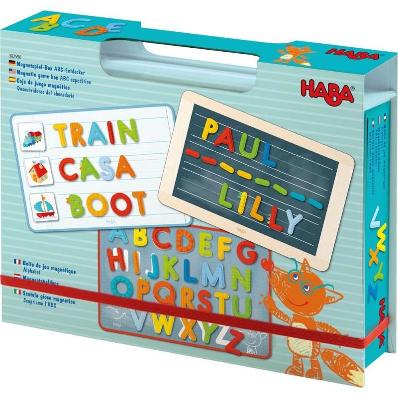 Boîte de jeu magnétique - Alphabet