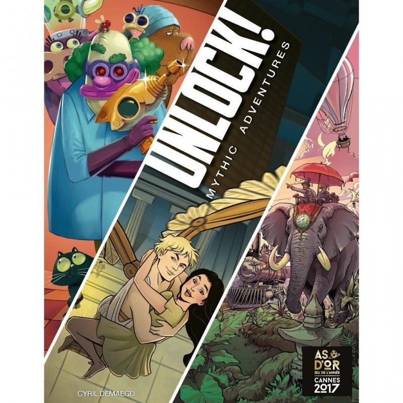 Unlock ! 8 Mythic Adventures
