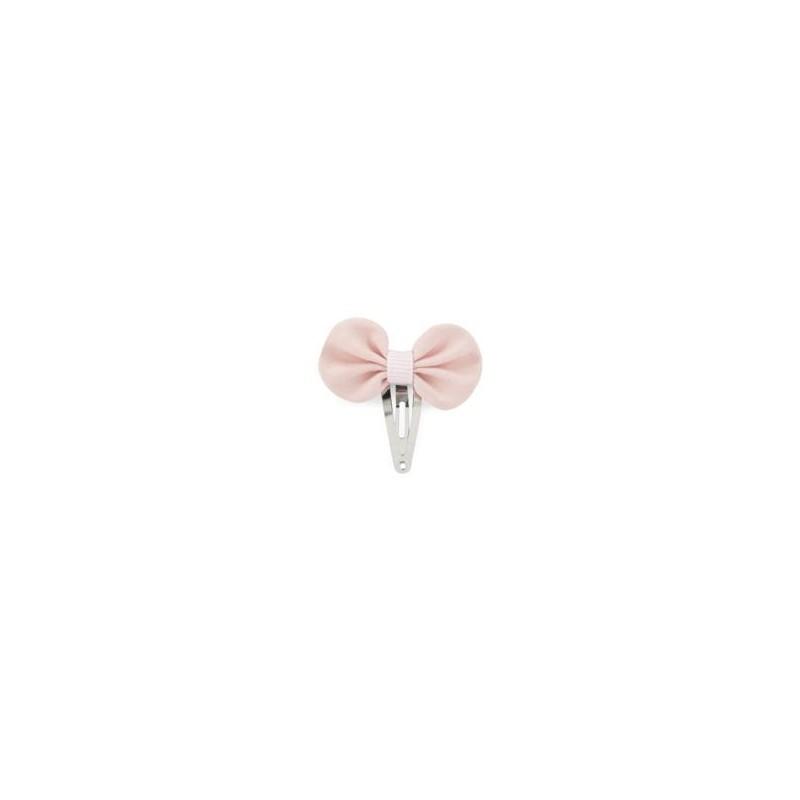 Barrette mini pétale - Vieux rose