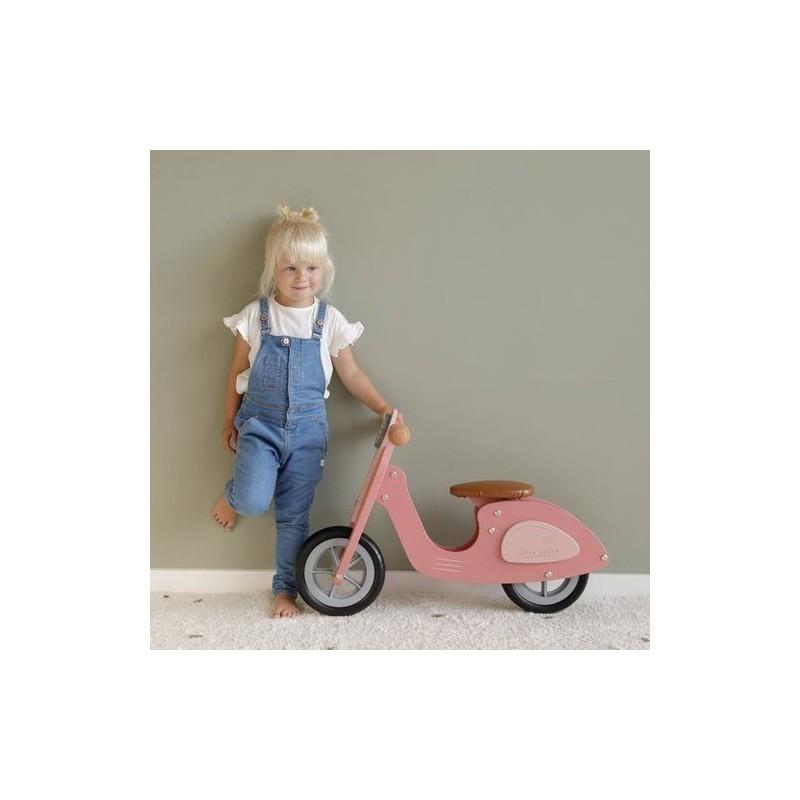 Little Dutch - Draisienne scooter rose