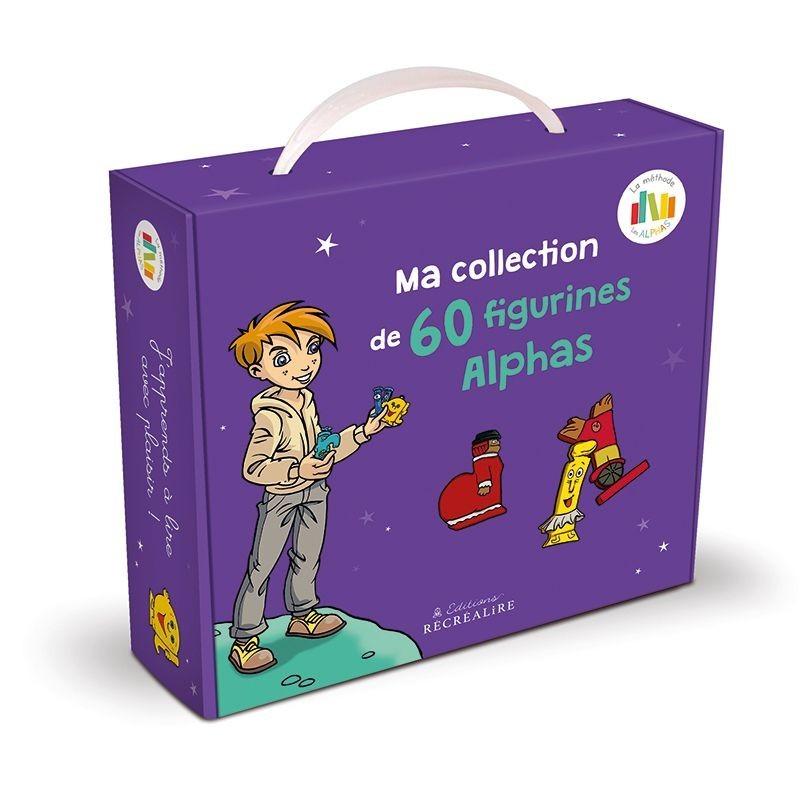 La planète des Alphas (La collection des 60 figurines alphas)