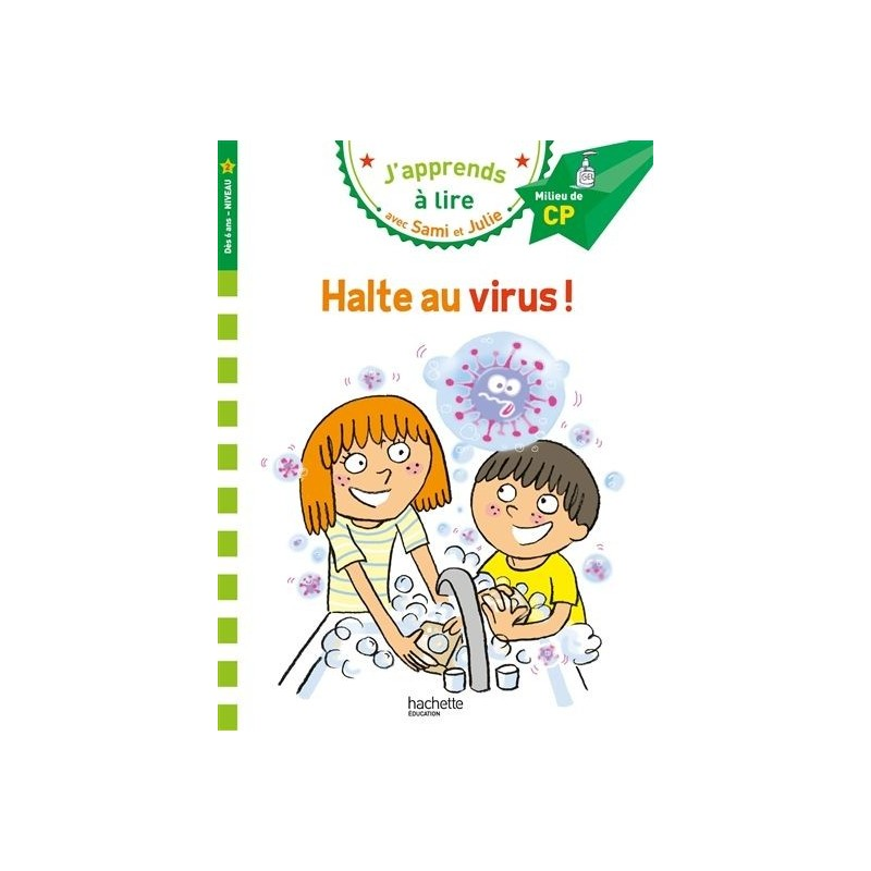 Sami et Julie - Halte au virus (niveau 2)