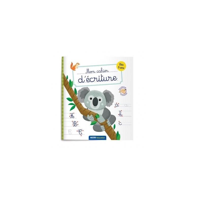 Mon cahier d'écriture animaux