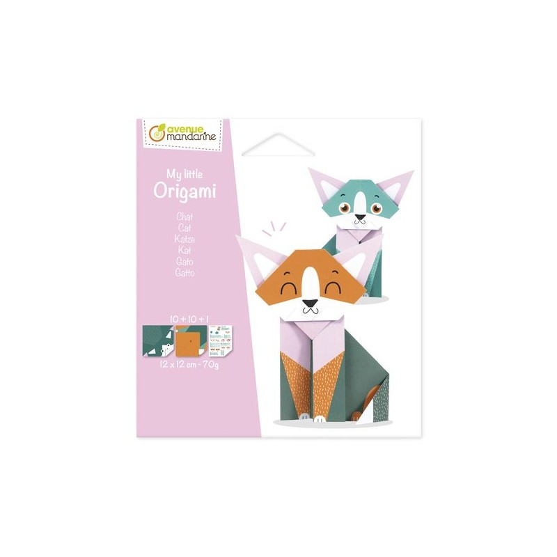 My little origami - Chat