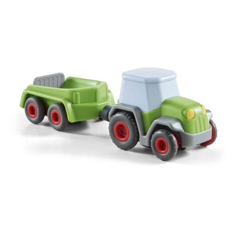 Little Friends - Tracteur avec remorque verte