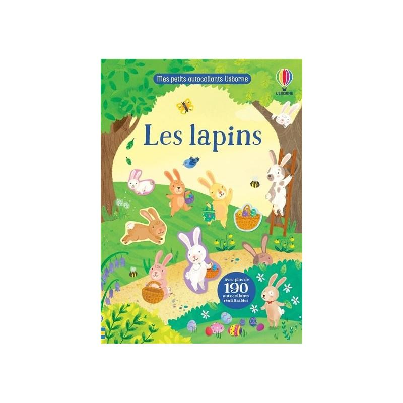 Mes petits autocollants - Les lapins