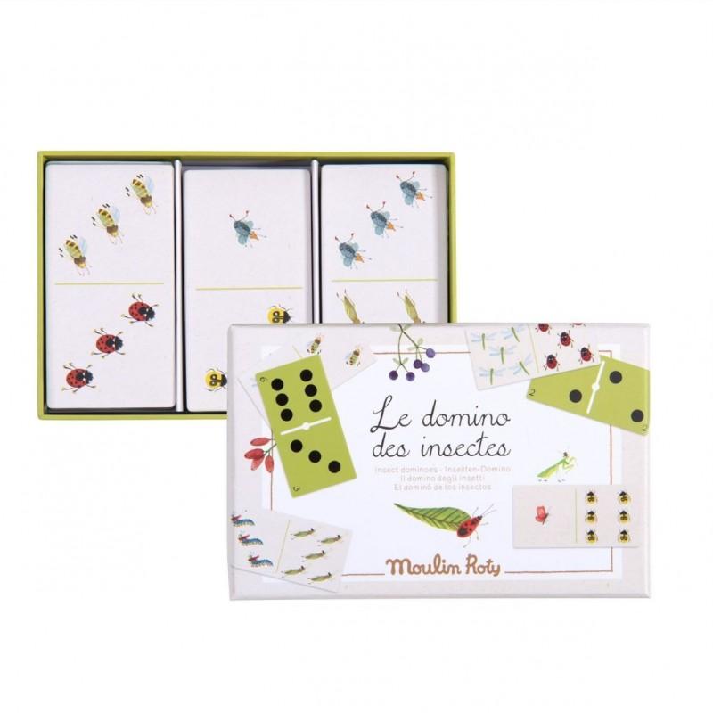 Jeu de dominos des insectes - Le jardin du moulin