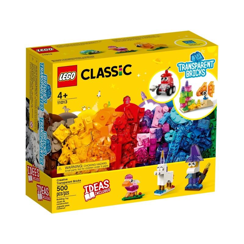 Lego Classic - Briques transparentes créatives
