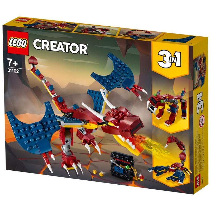 Lego Creator - le dragon de feu