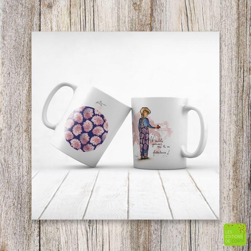 "Mug ""Fabuleuse"" - Mon amie Luce"