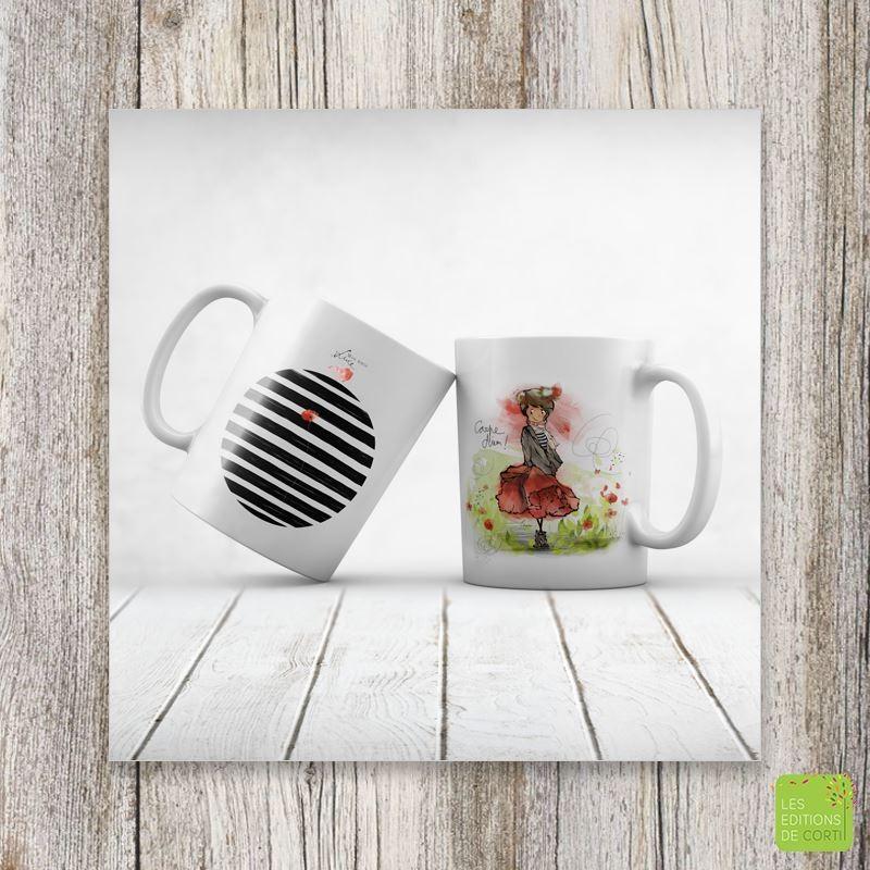 """Mug """"Carpe Diem"""" - Mon amie Luce"""