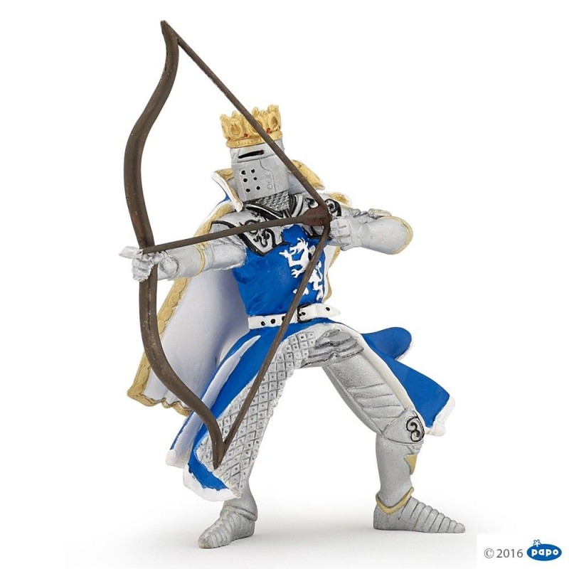 Roi au dragon à l'arc - Le monde médiéval