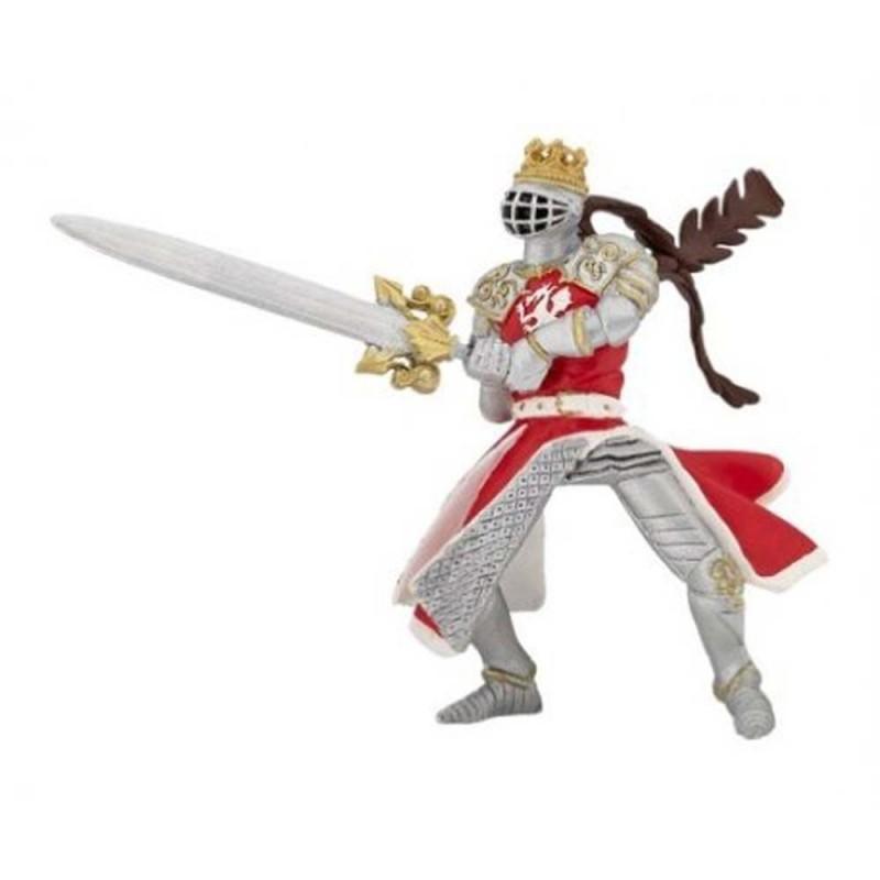 Roi au dragon à l'épée - Le monde médiéval