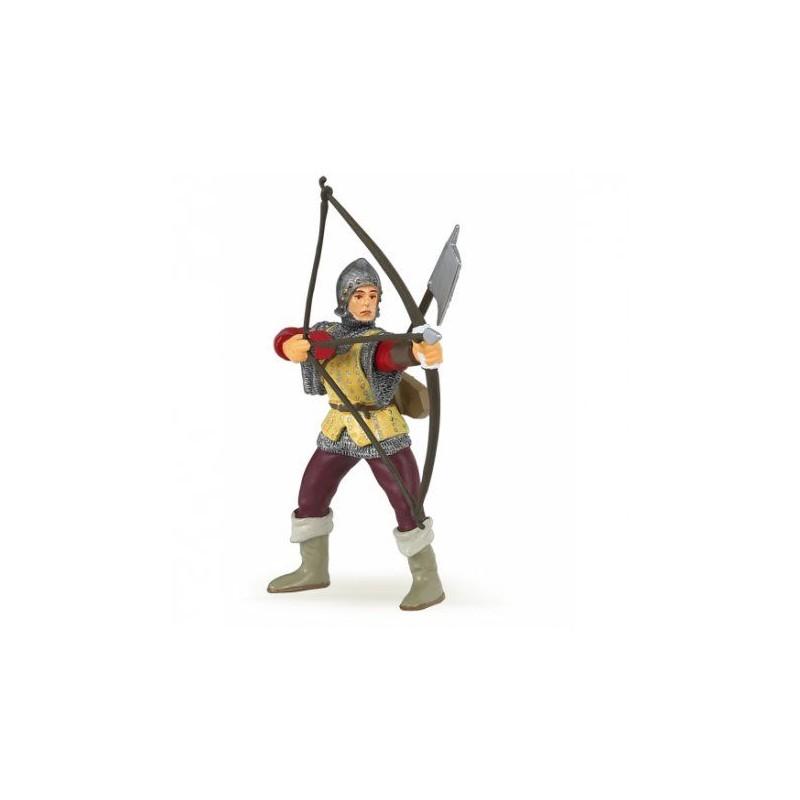 Archer rouge - Le monde médiéval