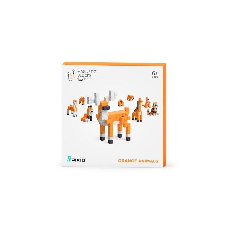 Coffret animaux oranges - 162 pièces
