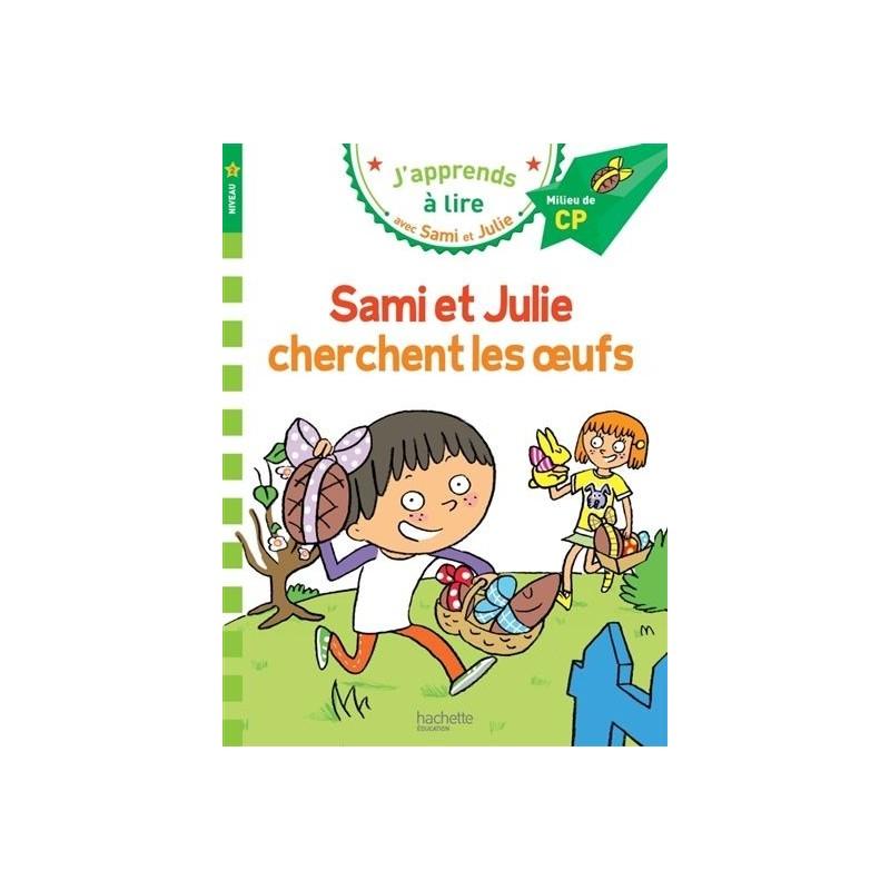 Sami et Julie cherchent les oeufs (niveau 2)
