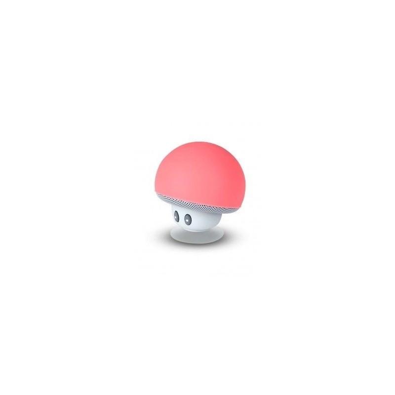 Enceinte champignon rouge