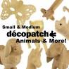 Décopatch vrac - Chaton 15,5 cm