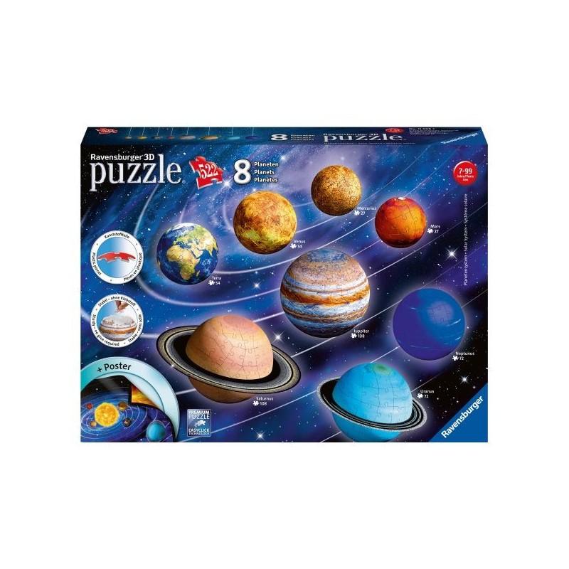 Puzzle 3D Système solaire