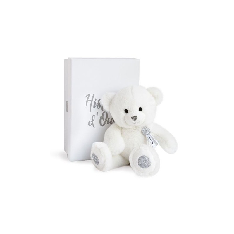 Ours charm Blanc 24 cm