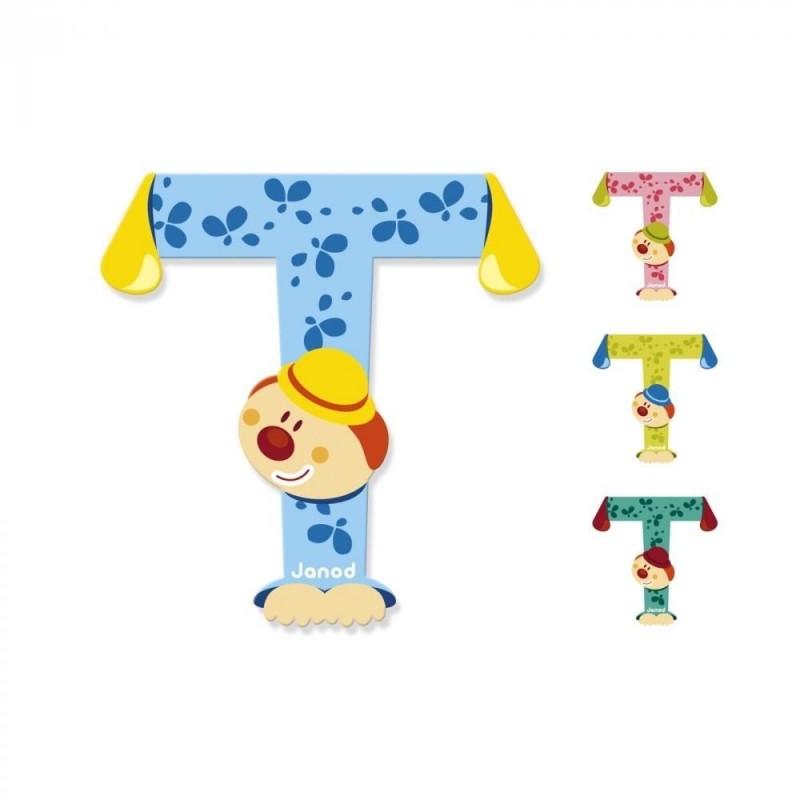 Lettre clown T