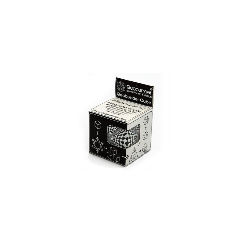 Casse-tête Geobender cube - Abstrait