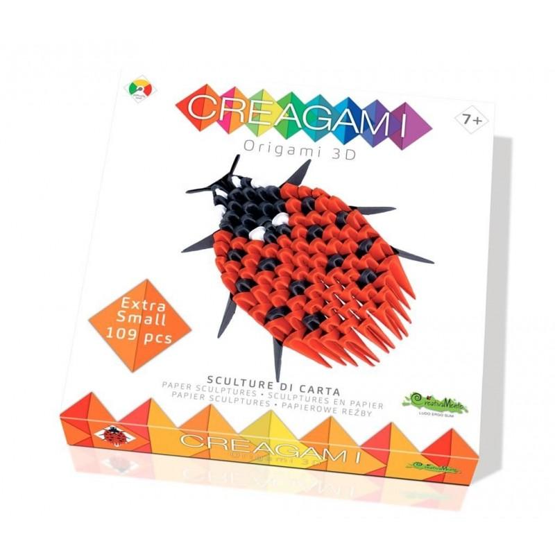 Creagami XS - Coccinelle origami 3D