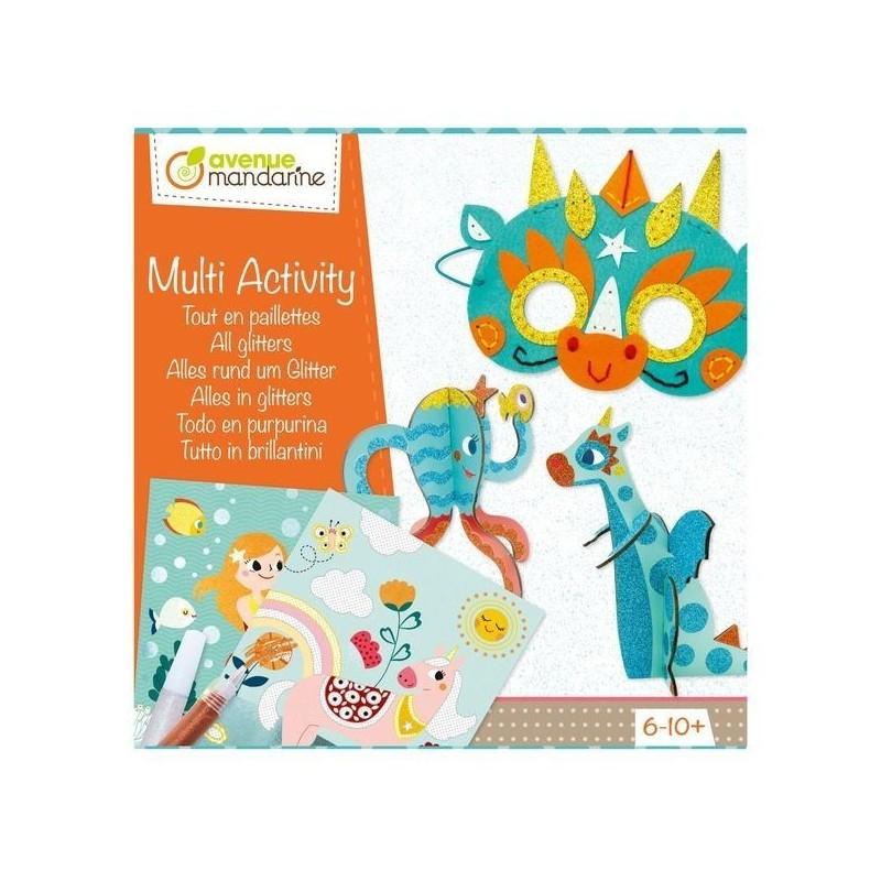 Coffret créatif multi-activités - Tout en paillettes