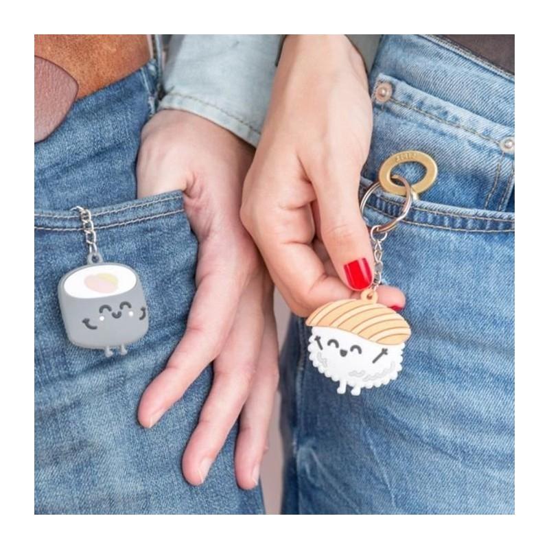 Set de 2 porte-clés - Entre toi et moi ça roule