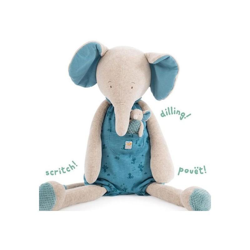 ** Eléphant géant Sous mon baobab