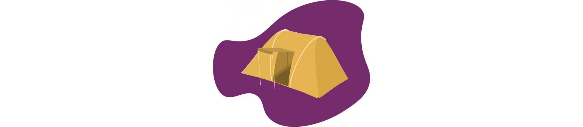 Tentes et cabanes
